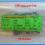 100x Resistor 10 Kohm 1/4 Watt 1% Metal film Resistor (100pcs per lot) thumbnail 2