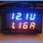 1x Digital DC (0-30V 10A) Voltmeter Ammeter Red Blue Color module thumbnail 5