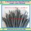 1x Heat Shrink Tube 2.0mm Black Color Length 1 meter 3M Brand (ท่อหด 2.0มม ยี่ห้อ 3M) thumbnail 1