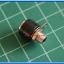 5x Female Black Color 4 mm Banana Jack Connector thumbnail 4