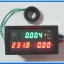 1x LED Digital Wattmeter Voltmeter Ammeter Kilowatthourmeter Power factor panel module thumbnail 2