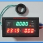 1x LED Digital Wattmeter Voltmeter Ammeter Kilowatthourmeter Power factor panel module thumbnail 3