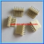 5x WAFER CONNECTOR 6 PINS STRAIGHT TYPE 2.54mm (5pcs per lot) thumbnail 3