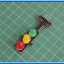 1x แอลอีดีไฟจราจร 3 สี แดงเหลืองเขียว (Traffic Light) thumbnail 3