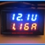 1x Digital DC (0-100V 10A) Voltmeter Ammeter Red Blue Color module thumbnail 2