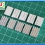 10x Aluminum Heatsink 16x11x5 mm with Thermal Conductive Tape thumbnail 2