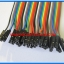 1x Jumper (F2F) cable wire 40pcs 2.54mm 20cm Female to Female thumbnail 4