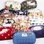 กระเป๋าสตางค์ Chalita wu สีขาว ลายหอไอ thumbnail 3