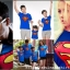 เสื้อครอบครัว ชุดครอบครัว เสื้อ พ่อ แม่ ลูก ลาย ซุปเปอร์แมน ผลิตจากผ้าคอตตอน 100% thumbnail 6