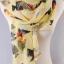ผ้าพันคอผ้าชีฟองสีเหลือง ( รหัส P260 ) thumbnail 1