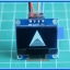 "1x Blue OLED LCD 128x64 0.96"" I2C Interface Module thumbnail 7"