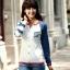 เสื้อคู่ เสื้อคู่รัก ชุดพรีเวดดิ้ง ชุดคู่รัก เสื้อคู่รักเกาหลี เสื้อผ้าแฟชั่น ผู้ชาย + ผู้หญิง เสื้อแขนยาวสีขาว ตัดด้วยแขนเสื้อลายฟ้าขาว ผลิตจากผ้าฝ้าย เนื้อนิ่ม หนา ใส่ สบาย งานจริงสวยๆมากค่ะ thumbnail 14