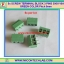 5x SCREW TERMINAL BLOCK 3 PINS Pitch 5.0mm 300V/10A GREEN COLOR thumbnail 1