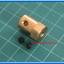 1x ข้อต่อแกนเพลาทองเหลือง ขนาด 4 มม (Brass Motor Shaft Coupling Coupler 4 mm) thumbnail 3