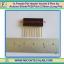 1x Female Pin Header Socket 8 Pins for Arduino Shield PCB Pitch 2.54mm (Long Pin) thumbnail 1