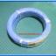 1x สายไฟสีฟ้าแบบอ่อน ขนาด 1x0.5 ตร.มม.(Cable Wire 1 meter 0.5 SQ MM Blue color) thumbnail 4