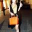 กระเป๋าแฟชั่น สีส้ม thumbnail 5