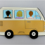 MICRO BUS STICKY NOTE BIEGE thumbnail 2