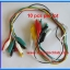10x Cable Wire Crocodile Clips Length: 50cm (10pcs per lot) thumbnail 5