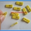 10x Mini Jumper 2 Pins Female with Handle Pitch 2.54mm Yellow Color thumbnail 2
