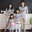 เสื้อครอบครัว ชุดครอบครัว ผ้าเนื้อนิ่ม มาครบ พ่อ แม่ ลูกสาว ลูกชาย : BaseballSet Collection thumbnail 1