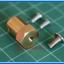 1x Brass Motor Shaft Coupling Coupler 6 mm (ข้อต่อแกนเพลา 6มม) thumbnail 4