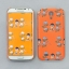 AURORE ORANGE SNAP CASE FOR GALAXY S4 thumbnail 1