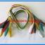 10x Cable Wire Crocodile Clips Length: 50cm (10pcs per lot) thumbnail 4