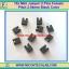 10x Mini Jumper 2 Pins Female Pitch 2.54mm Black Color thumbnail 1