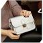 กระเป๋า สะพายข้าง ทรง vintage สีเงิน thumbnail 6