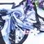 ผ้าพันคอผ้าซาติน Japanese Blue Style thumbnail 1