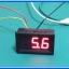 1x ดิจิตอลดีซีโวลต์มิเตอร์ 0-99.9 Vdc 3 สาย ขนาด 0.56 นิ้ว สีแดง (Digital DC Voltmeter) thumbnail 7
