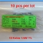 10x Resistor 10 Kohm 1/4 Watt 1% Metal film Resistor (10pcs per lot) thumbnail 2