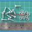 10x M3* 10mm Screws + 10x M3 Nuts (สกรูหัวกลม+น็อตตัวเมีย ขนาด 3มม ยาว 10มม) thumbnail 3