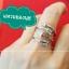 แหวนลูกศร แหวนธนู แหวนนุช ไซส์ใหญ่ (เงินแท้) thumbnail 1