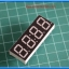 1x LED 7's SEGMENT 4 DIGIT Clocke Type Red Color Common Cathode 0.56 inch thumbnail 5