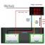 1x ดิจิตอลดีซีโวลต์แอมป์มิเตอร์ 0-100V 0-10A LED สีแดงน้ำเงิน(Digital DC Voltmeter Ammeter) thumbnail 5