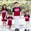 เสื้อครอบครัว ชุดครอบครัว พ่อ แม่ ลูก Super love set Collection thumbnail 1