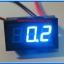 1x Digital Panel DC Ammeter 0-20 Amp Blue Color module thumbnail 2