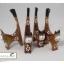 ตุ๊กตาแมวไม้สำหรับสวมแหวน (ชุดมี 4 ตัว) thumbnail 8