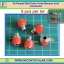 5x Female Red Color 4 mm Banana Jack Connector thumbnail 1
