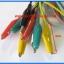 10x Cable Wire Crocodile Clips Length: 50cm (10pcs per lot) thumbnail 3