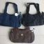 กระเป๋าถือ + สายสะพาย สีดำ thumbnail 3