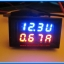 1x Digital DC (0-100V 10A) Voltmeter Ammeter Red Blue Color module thumbnail 8