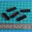 5x Female Pin Header 1x10 Pin Single Row Pitch 2.54mm (5pcs per lot) thumbnail 2