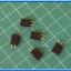 5x Female Pin Header 1x2 Pin Single Row Pitch 2.54mm (5pcs per lot) thumbnail 2