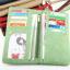 กระเป๋าสตางค์ หนังกลับ สี Olive green (เขียวขี้ม้า) thumbnail 4
