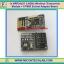 1x NRF24L01 2.4GHz Wireless Transceiver Module + 8 PINS Socket Adapter Board thumbnail 1