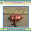 "1x Mini Digital DC Voltmeter module 0-100 Vdc RED LED 7's Segment 3 Wires 0.28"" thumbnail 1"