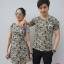 """เสื้อคู่ เสื้อคู่รัก ชุดคู่รัก เสื้อคู่รักเกาหลี เสื้อคู่แฟชั่น ลาย """"SOLDIER I & U"""" ADX021 thumbnail 2"""